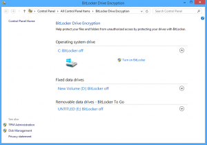 Use BitLocker to Go to Protect Data of an External Hard Drive, USB or Flash Drive