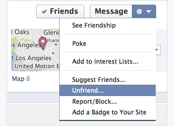 delete all your inactive unwanted facebook friends same time