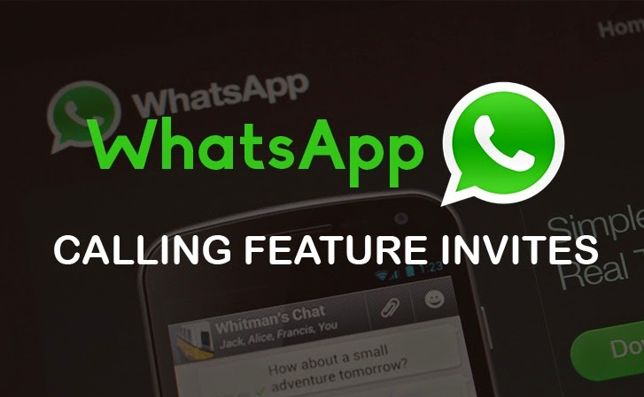 Whatsapp Calling Feature Invite