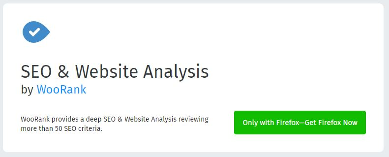 Website & SEO Analysis by WooRank - Browser Extensions for Powerful SEO