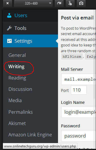 wordpress setting - Index your Blog Faster with WordPress Ping List