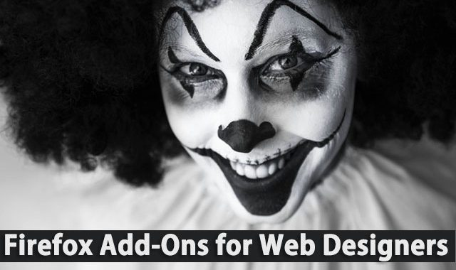 Top 8 Mozilla Firefox Add-Ons for Web Designers & Developers