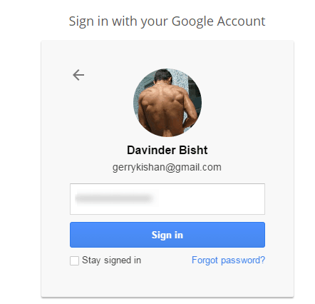 Step 2 - How to Set Default Google account For Multiple Gmail Accounts
