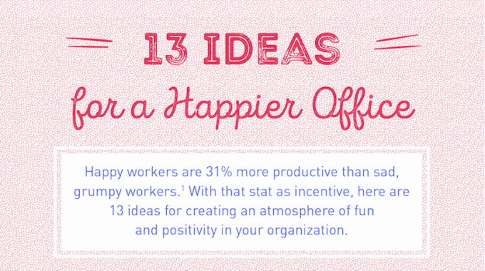 20 Ways to Build a Happy & More Productive Workforce – by Wrike project management tools