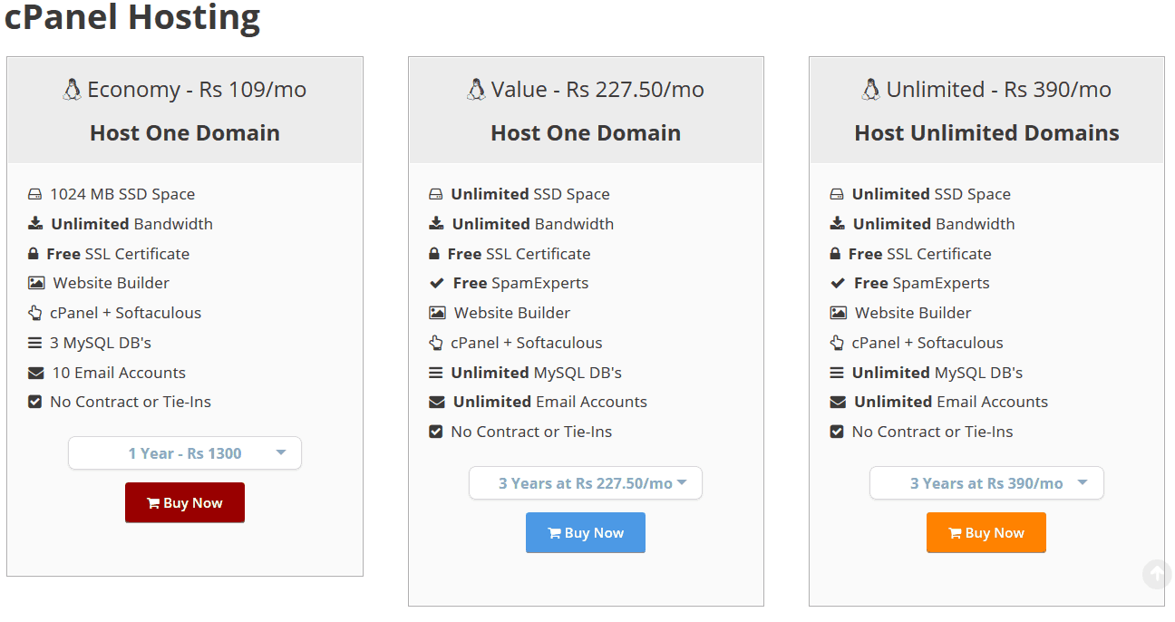 Cpanel Hosting Plan - Reasons to Host your Website with MilesWeb