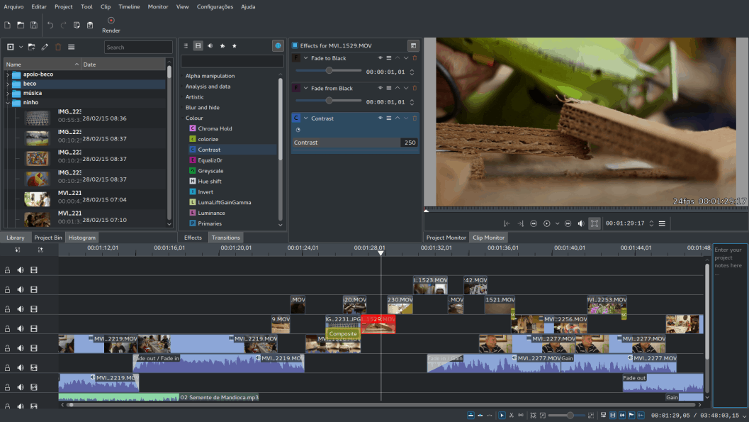 kdenlive - Best Video Editing Software & Tools
