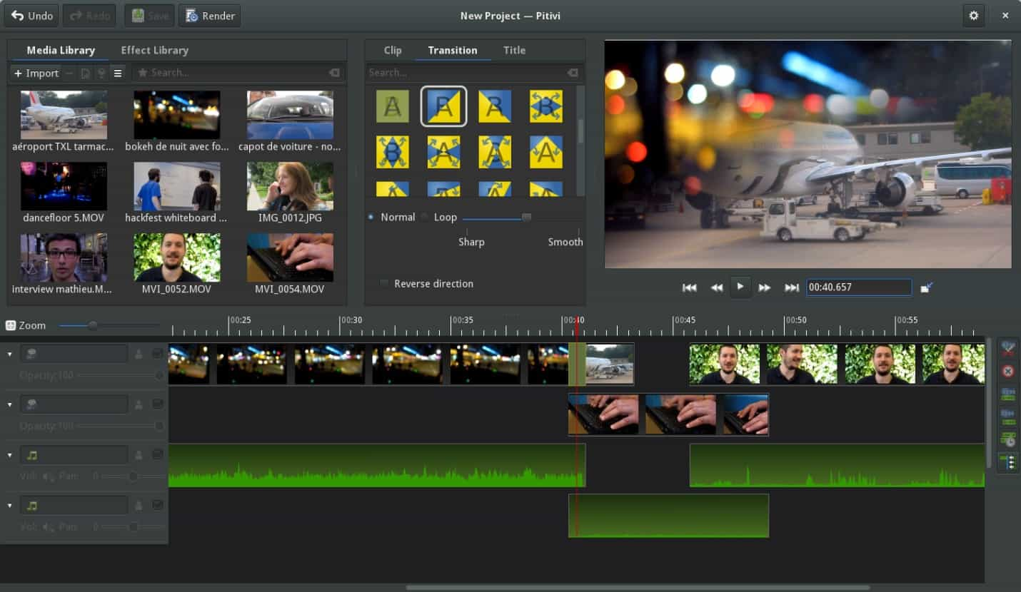 pitivi - Best Video Editing Software & Tools
