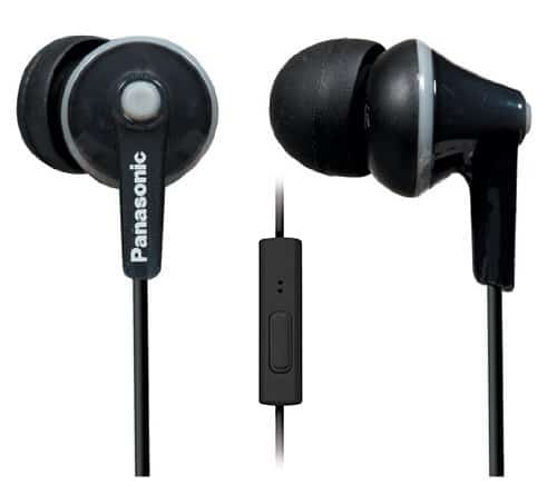 Panasonic TCM 125 - Best Earbuds Under $30: Top 10 Handpicked Cheap Earbuds