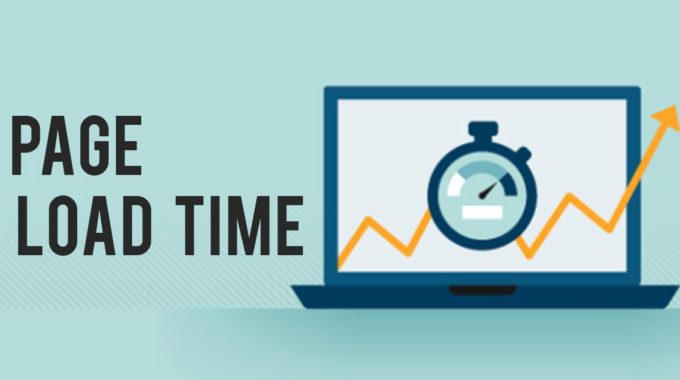 Page Loading Time is Now A Top Google Ranking Factor